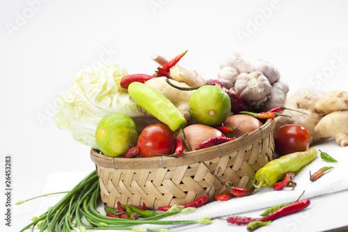 Gemüse Sammlung