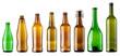 Leinwandbild Motiv color bottles