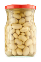 Preserved beans