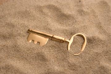 Buried key