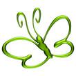 Papillon vert électrique 2