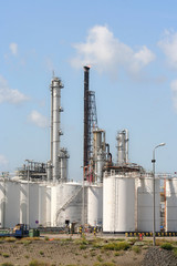 Oil Refinery and Depots