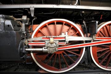 locomotrice antica milano treno antico ruota