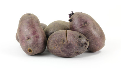 Small Group Purple Potatoes