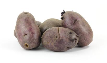 Small Group Purple Potatoes