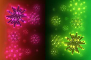 Shone viruses in blood plasma