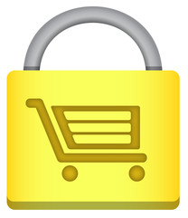Secure Shopping Padlock