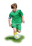 Fussball Junior freigestellt