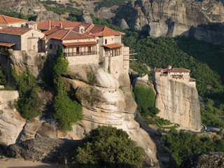 Two Monastery of Meteora, Greece