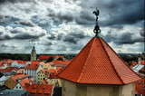 View of Old Regensburg ,Bavaria,Germany,Unesco heritage,HDR poster