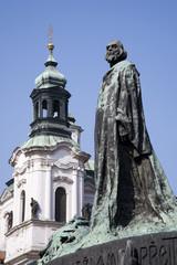 Prague - Jan Hus landmark by Jan Kotera,1915