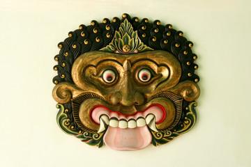 kraton palace mask yogyakarta