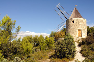 Moulin de Boulbon en France