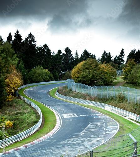 Leinwandbild Motiv race circuit
