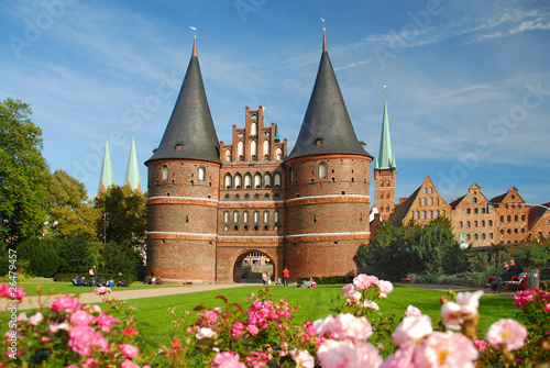 Holstentor, Lübeck - 216