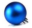 blue ball decoration for a ñhristmas tree