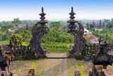 The biggest temple complex,mother of all temples. Bali poster