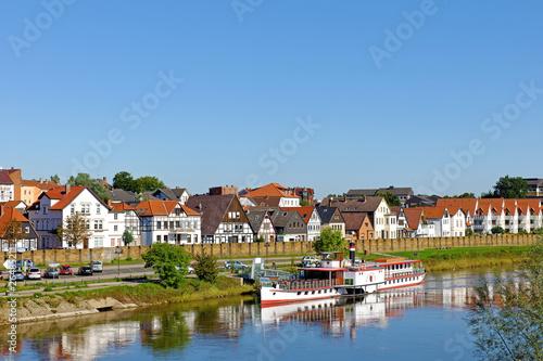 Leinwandbild Motiv Minden an der Weser