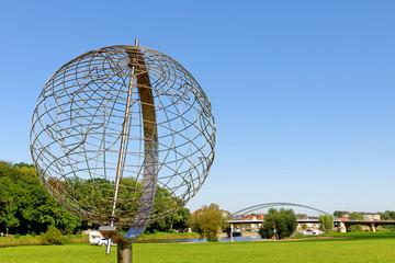 Der Globus in Minden an der Weser
