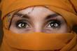 Fototapeten,tuareg,frau,auge,sahara