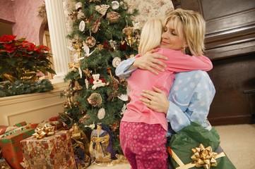 A Christmas Morning Hug