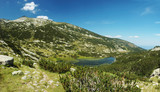 Panorama of Pirin National Park, bulgarian unesco heritage