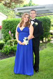 Young Prom Couple Full Length