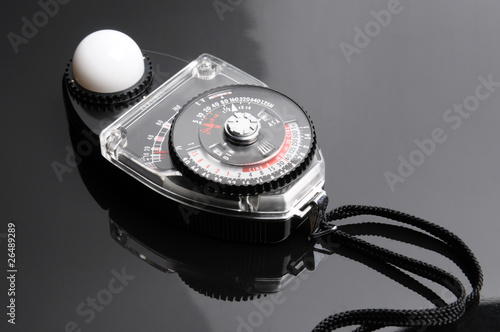 Leinwandbild Motiv Light Meter