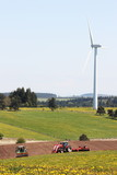 Sustainable Resources - Agriculture and Wind Energy poster