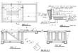 Detail of an architect blueprint