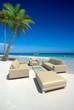 Living room on the beach