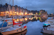 Old harbor in Honfleur, France