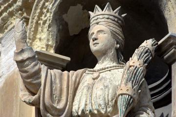 statua di Santa Lucia Martire
