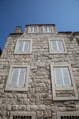 Stone house in Orebic, Croatia