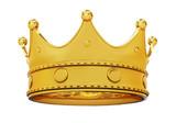 Golden crown - bottom view