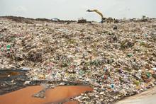 Midden ścieków, śmieci, zanieczyszczenia, Bad Życie