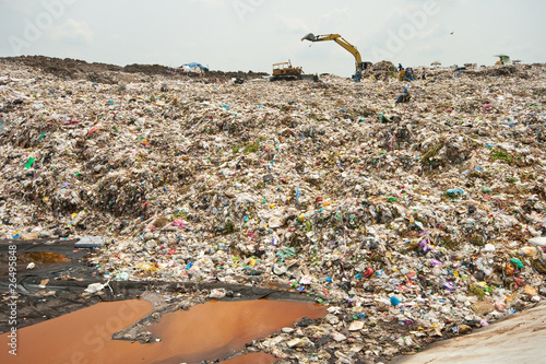 Midden Wastewater, Garbage, Pollution, Bad Life