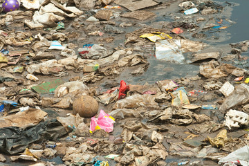 Wastewater, Garbage, Pollution, Bad Life