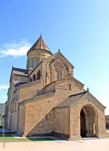 Svetitskhoveli Cathedral  in Mtskheta, Georgia