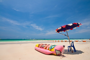 Banana Boat, Lan Island, Pattaya, Thailand