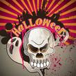 Halloween artistic banner.