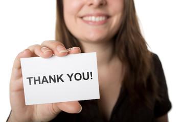 Bedanken Sie sich bei Ihren Kunden