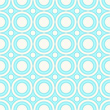 Seamless circles pattern in pastel colors