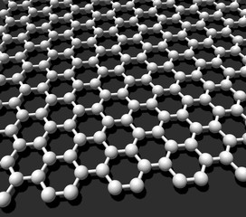 graphene crystal lattice