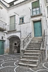 Alleyway. Bovino. Foggia. Apulia.