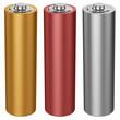 Leinwanddruck Bild - AA battery