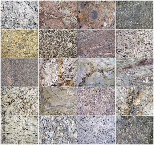 close up shot of a granite background