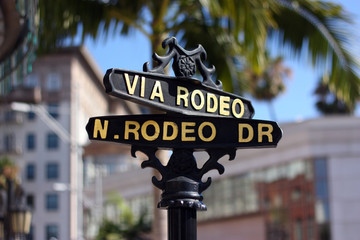 Rodeo Drive - California!