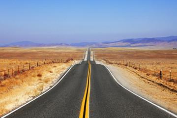 Abrupt bends of road