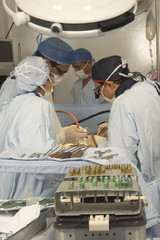 Doctors on the operations